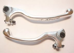 AJP Braktec Type Forged Lever silver